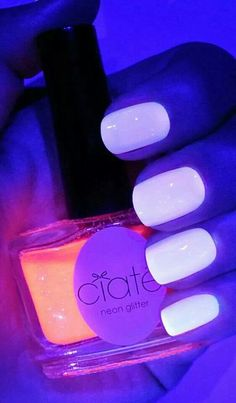 Glow in the dark nails...