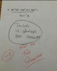 Memes Funny Hilarious Christian 60 Ideas For 2019 Funniest Kid Test Answers, Kids Test Answers, Funny Kid Answers, Riddles With Answers, Memes Humor, Funny Shit, Funny Stuff, Funny Things, Funniest Things