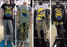 Minion Pyjama sets various styles available