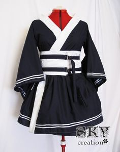 Custom Sailor Kimono Dress by skycreation on Etsy, $65.00