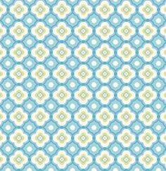 Dena Designs Taza Fabric - Geo - Aqua