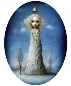 """""""Ice Princess"""" by Nicoletta Ceccoli"""