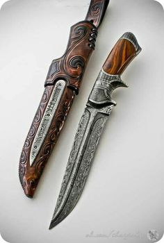 I don't know what is cooler. The sheath or the knife?
