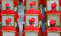 Cardinals in St. Peter's Square, Vatican City  What's the point since there is…