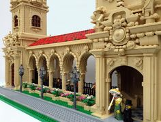 Balboa Park towers close up by Parks and Wrecked Creations http://flic.kr/p/rHV7gB