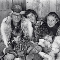How did this 1978 Lauren-family portrait inspire @RalphLauren's fall 2015 women's collection? Head to VF.com to find out.  Photograph by @Bruce_Weber.