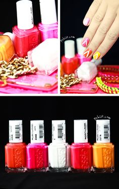 Colorful nails.  Pshiiit bog.