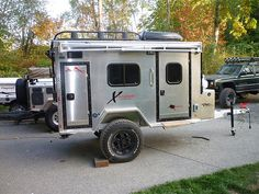 VMI Offroad can build the expedition vehicle of your dreams whether it is one of our Xtender series trailers, a complete expedition vehicle, or a combination of the two. VMI Offroad is here to help you get out and explore more. Enclosed Trailer Camper, Cargo Trailer Camper Conversion, Off Road Camper Trailer, Camper Trailers, Expedition Trailer, Overland Trailer, Cargo Trailers, Expedition Vehicle, Travel Trailers