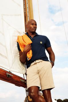 Polo Ralph Lauren For spring. Classic get up but whose the dude? Hello lover.