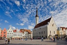 Oldest town hall in the whole of the Baltic region and Scandinavia