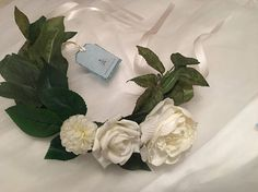 Ivory Rose Bridal Floral Crown