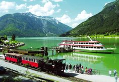 Edwards Coaches - Little Trains of Austria Innsbruck, Salzburg, Round Lake, Lake Park, Seen, Travel Memories, Alps, Places To Travel, Places Ive Been