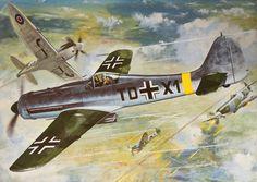 Focke Wulf Fw 190D-9 by Roy Cross