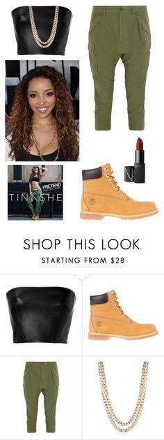 """Pretend// Tinashe"" by aaliyah-brunson ❤ liked on Polyvore featuring ASAP, David Koma, Timberland, NLST, BaubleBar, NARS Cosmetics, women's clothing, women's fashion, women and female"
