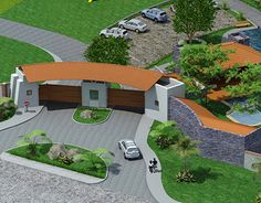 """Check out new work on my @Behance portfolio: """"Proyecto Pueblo Real 3D en…"""