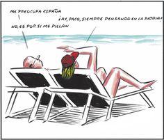 . ¡Me preocupa España! (El Roto) .