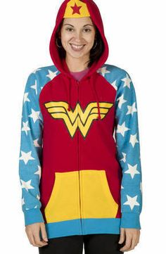Wonder Woman Products | Wonder Woman Costume Hoodie