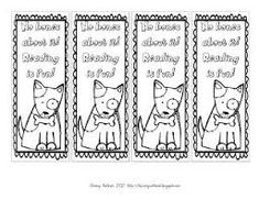 Image result for free printable dog bookmarks