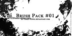 Grunge - Download  Photoshop brush http://www.123freebrushes.com/grunge-85/ , Published in #GrungeSplatter. More Free Grunge & Splatter Brushes, http://www.123freebrushes.com/free-brushes/grunge-splatter/ | #123freebrushes
