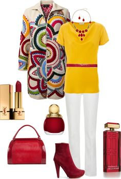 """Love the Coat"" by in2song on Polyvore"