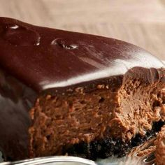 Choc fudge cheesecake