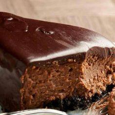 Choc fudge cheesecake
