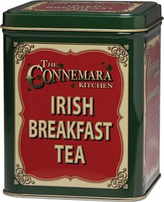 Irish Breakfast Tea in Tin.