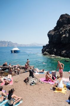 Exploring Ammoudi Bay in Santorini