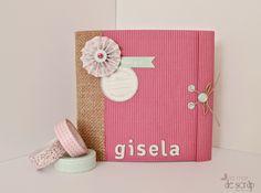 La Mar de Scrap: Tutorial mini álbum Gisela