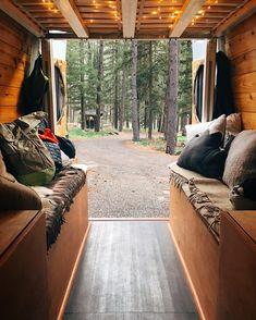 Back in the woods  by homesweetvan
