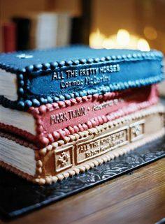 Book cake - Princess Bride, LOTR, Chronicles of Narnia, Beauty & the Beast...