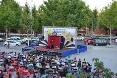 Tarde de circo en la programación cultural AL FRESCO El Gran Dimitri con Cirkusz Rupt Grand Show en la Plaza del Centro Cultural Tomás y Valiente