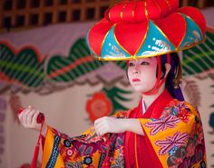 Shurijo Dancer #japan #okinawa