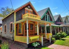 Image result for brightly painted porches