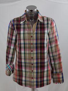 Bluse Gerry Weber 760004-86124-9109 Button Down Shirt, Men Casual, Plaid, Mens Tops, Shirts, Shopping, Women, Fashion, Blouse
