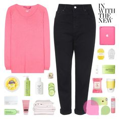 """~ 12O416"" by khieug ❤ liked on Polyvore featuring Topshop, Rodial, Dear Cashmere, Burt's Bees, Korres, ROOM COPENHAGEN, Pelle, Fresh, Brahms Mount and NARS Cosmetics"