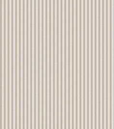 Home Decor Print Fabric- Eaton Square Blackburn Tan