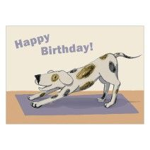 Die Geburtstagskarte für Hunde und Hunde Liebhaber: Happy Birthday