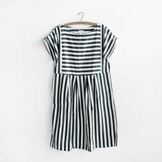 Cute and classy, the striped bib dress has a fun fit. Pair it with tennies, boots, or sandals to change up your look.
