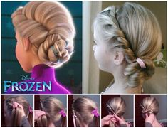 Frozen Hairdo perfect for little princesses