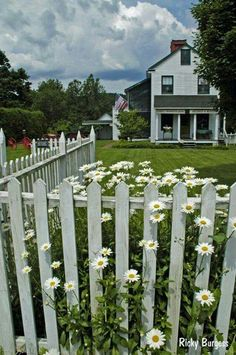 A picket fence always works