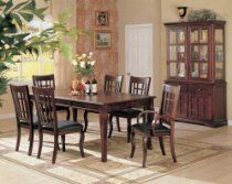 Coaster Furniture - Newhouse Rectangular Dining Table in Cherry Finish - 100500 Dining Room Furniture Sets, Coaster Fine Furniture, Dining Room Sets, Furniture Stores, Furniture Online, Quality Furniture, Affordable Furniture, Luxury Furniture, Furniture Decor