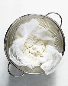 Make your own ricotta cheese. Definitely on my radar for next weekend.