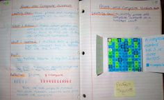 Runde's Room:  Prime and Composite Numbers math journal entry
