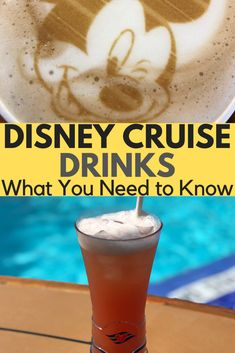 Discover everything you need to know about drinks on a Disney Cruise. Some are free, but here you can find out all about Disney Cruise Drinks Packages, Menus and ways to save money. Disney Dream Cruise Ship, Disney Wonder Cruise, Disney Fantasy Cruise, Disney Ships, Disney Cruise Line, Cruise Tips, Cruise Travel, Cruise First Time, Disney Halloween Cruise