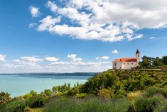 tihany balaton ts City People, Budapest, Places Ive Been, Sailing, Beautiful Places, Scenery, Places To Visit, Around The Worlds, Mansions