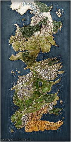 A Game of Thrones, The Board Game - Second Edition by henning.deviantart.com on @deviantART