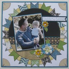 Echo Park~ For the Record 2 Scrapbook Layout #scrapbook #layout #papercraft