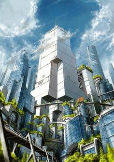 "100 Imaginative ""Cities of the Future"" Artworks"
