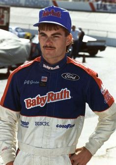Jeff Gordon after his first win in the Busch Series...Atlanta